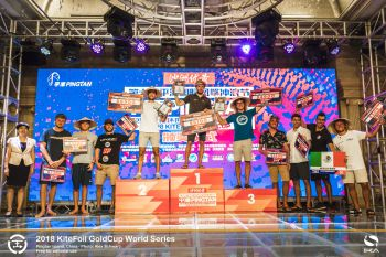 Multiple World Champion Nocher Captures Consecutive KiteFoil Tour Stops