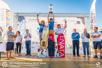 Parlier Takes KiteFoil World Title While Mazella Grabs GoldCup World Series Crown