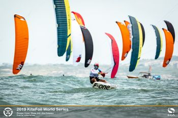 Teenage tour leader poised to bag hat-trick of victories at KiteFoil World Series in China