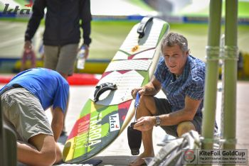 Legendary Race Coach Savours Prospect of Kiting Gracing Olympics' Stage