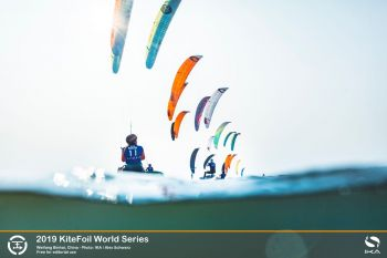 Wafer thin margins divide leading kitefoil racers at World Series in China