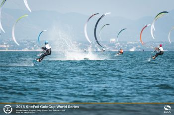 Nocher Crowned at KiteFoil World Series Final as Parlier Takes Sardinia Grand Slam