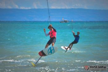 French Teenager Almost Flawless at KiteFoil World Championships