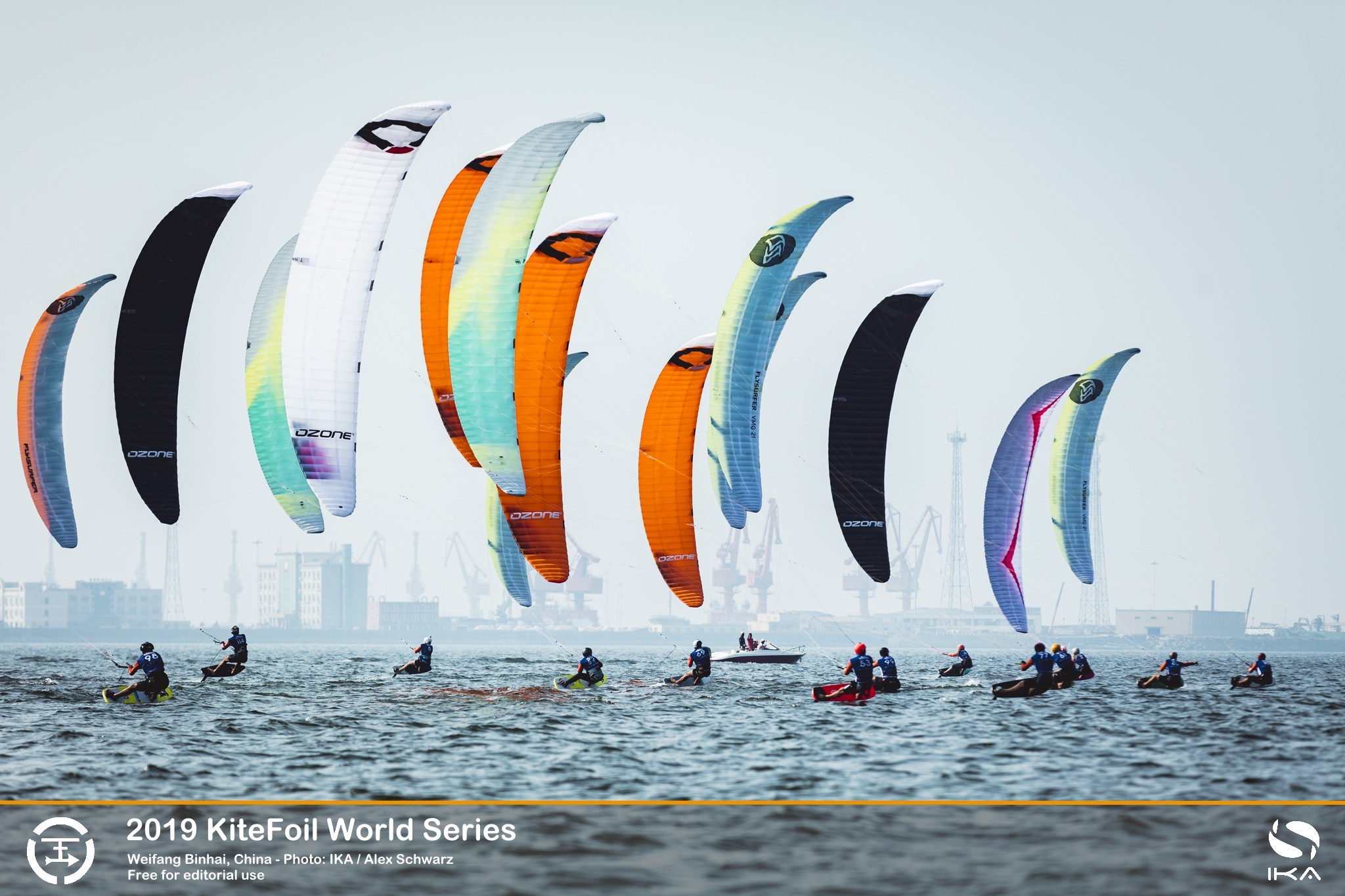 Kitefoil World Series' leader surges to top after slow start in China