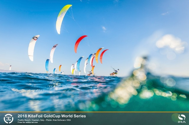KiteFoil World Series To Wrap Up With Third Act in Sardinia