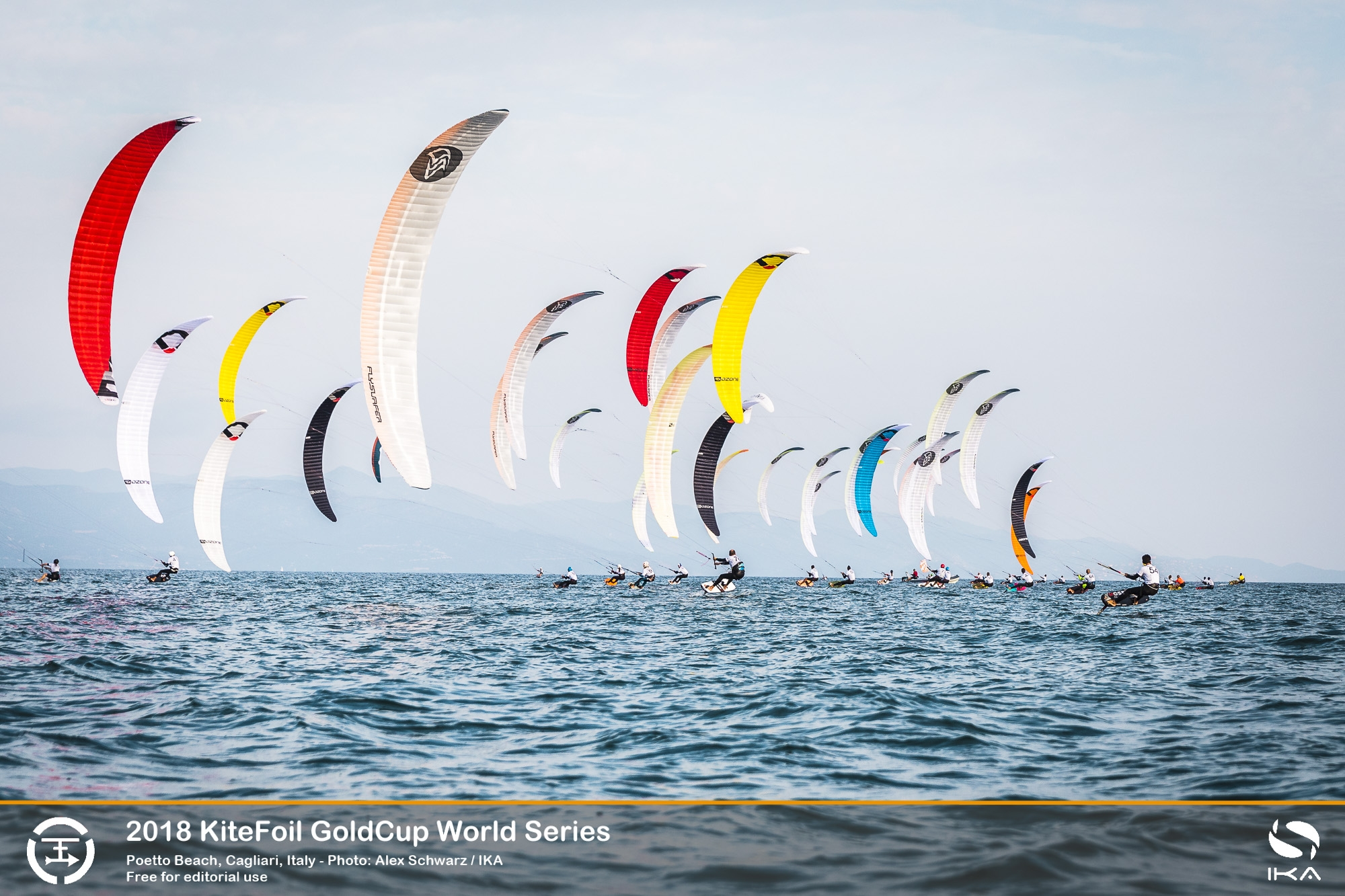 KiteFoil Series Final Gets Tighter at Top of Order in Light Breezes